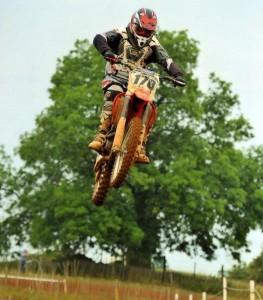 Tim Saunders Motocross Racer